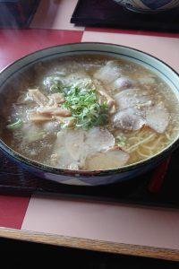 塩チャーシュー麺大盛